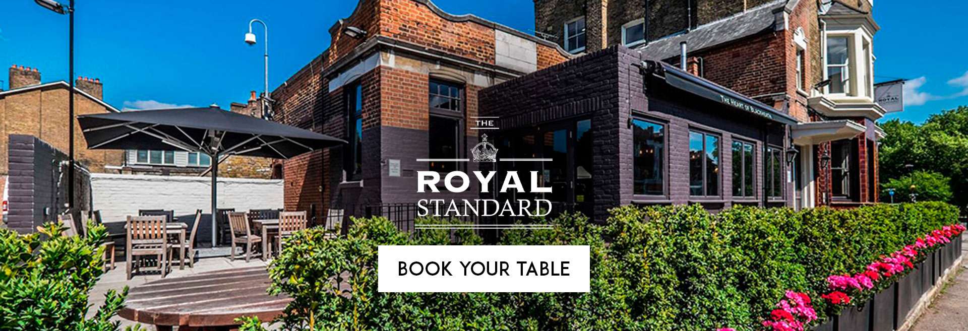 Book Your Table at The Royal Standard